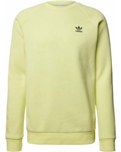 Żółta bluza bawełniana Adidas Originals