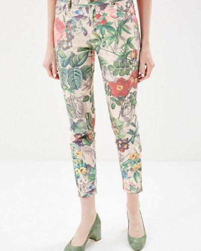 Бежевые брюки Savage