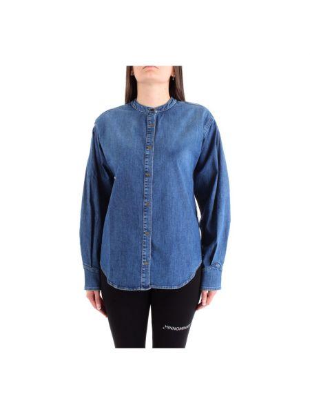 Koszula jeansowa - niebieska Haikure