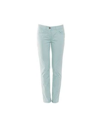 Голубые джинсы-скинни Scervino Street