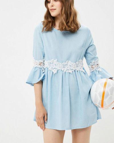 Платье с длинными рукавами осеннее By Swan
