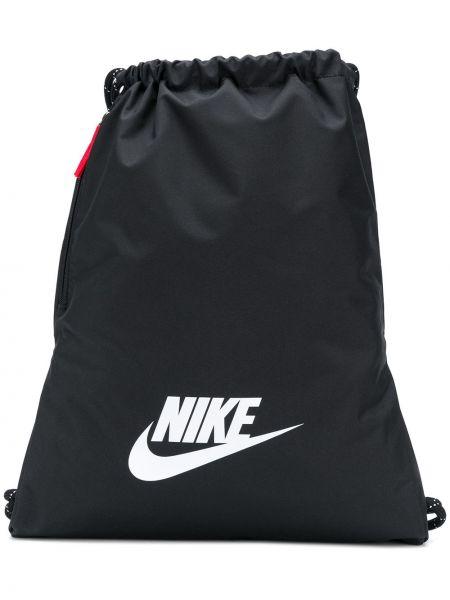 Czarny sport plecak na co dzień Nike