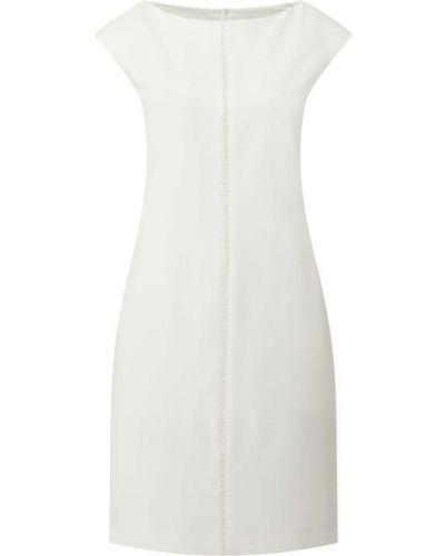 Sukienka z wiskozy - biała S.oliver Black Label