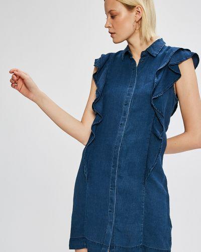 Платье мини однотонное свободного кроя Vero Moda