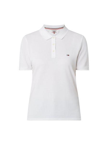 T-shirt bawełniana - biała Tommy Jeans