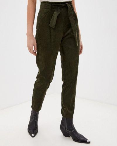 Повседневные зеленые брюки Please