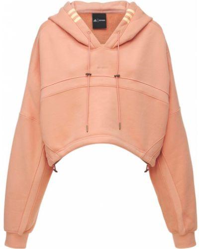Розовое худи с логотипом Adidas X Ivy Park