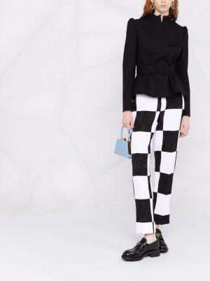 Шерстяной пиджак - черный Rochas
