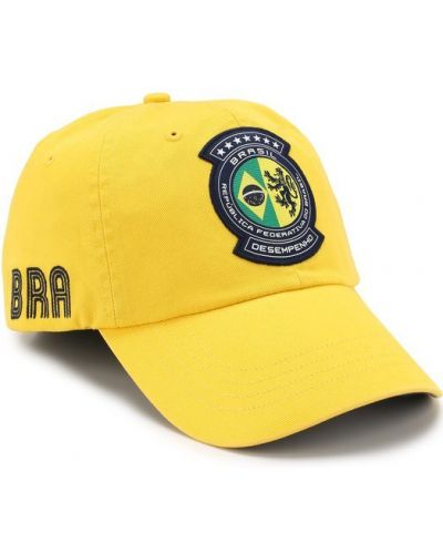 Желтая бейсболка Polo Ralph Lauren