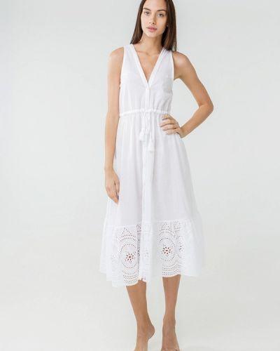 Пляжное платье - белое Ora