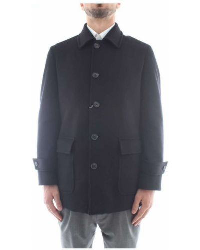 Czarny płaszcz Sartoria Latorre