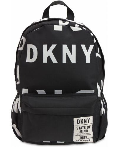 Нейлоновый рюкзак - черный Dkny