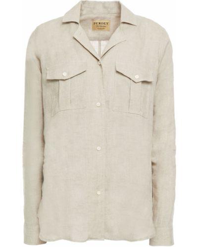 Beżowa koszula Purdey