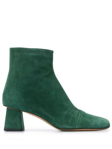 Ботинки на каблуке с квадратным носком на молнии Rayne