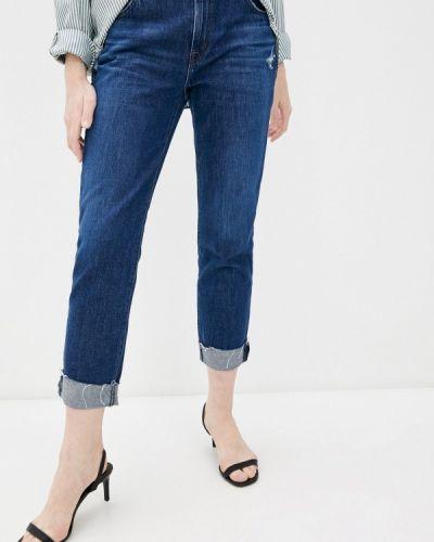 Синие джинсы бойфренды J Brand