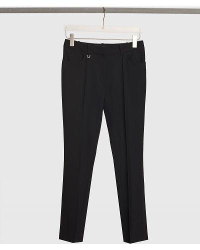 Шерстяные классические брюки - черные Barbara Bui