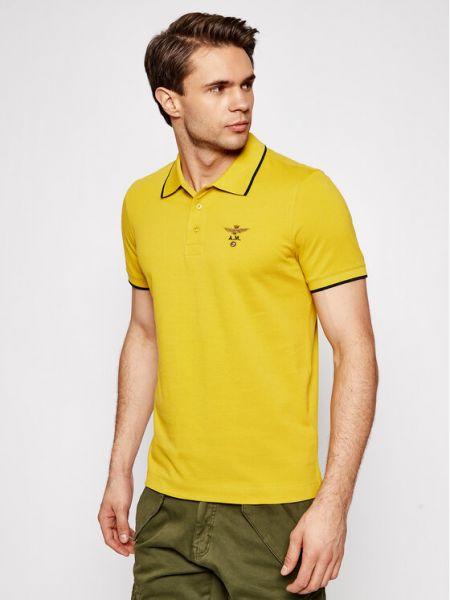 Żółta koszulka Aeronautica Militare