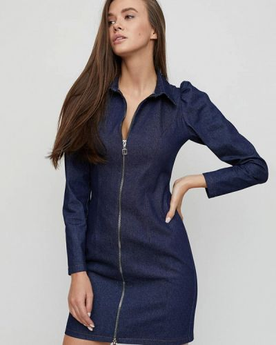 Синее джинсовое платье Cardo