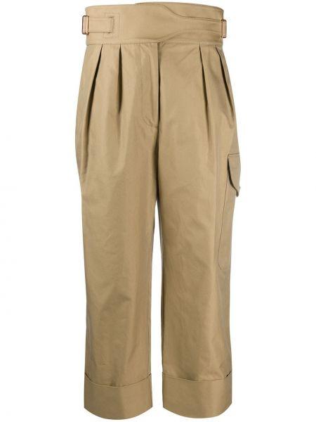 Укороченные брюки с завышенной талией с карманами See By Chloé