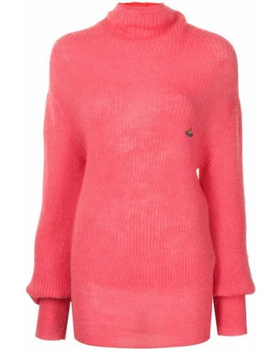 Джемпер из мохера - розовый Vivienne Westwood