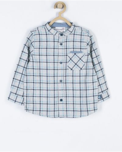 Рубашка хлопковая на пуговицах Coccodrillo