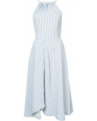 Платье миди в полоску солнце макси Jason Wu