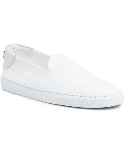 Białe tenisówki Casadei