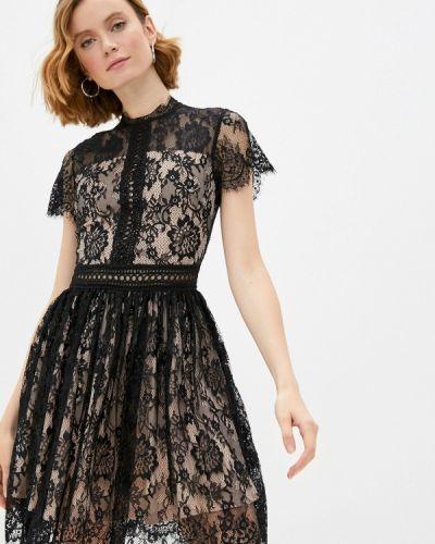 Черное вечернее платье Soky & Soka