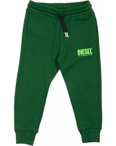 Zielone joggery Diesel