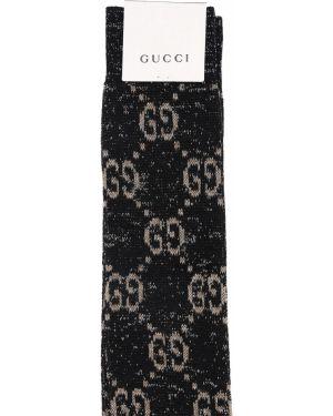 Skarpety bawełniane - czarne Gucci