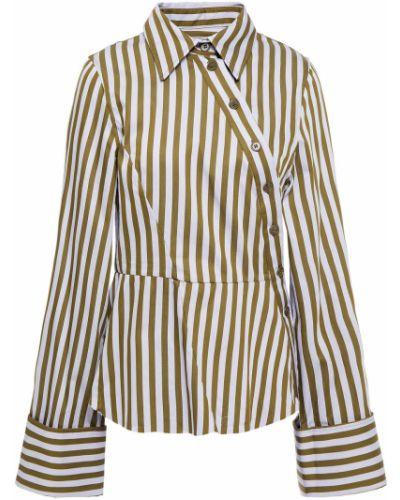 Koszula bawełniana w paski asymetryczna Marques Almeida