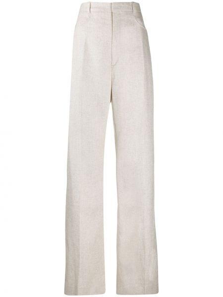 Bielizna bawełna spodni spodnie z paskiem Jacquemus