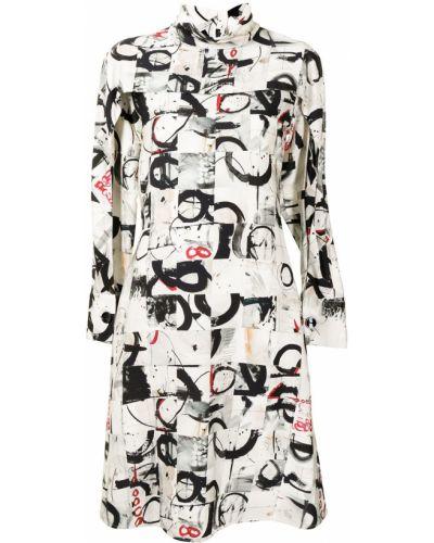 Платье макси длинное - серое Ports 1961
