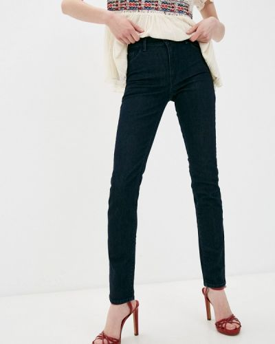 Синие прямые джинсы Trussardi