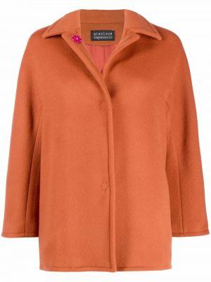 Оранжевая куртка классическая Gianluca Capannolo