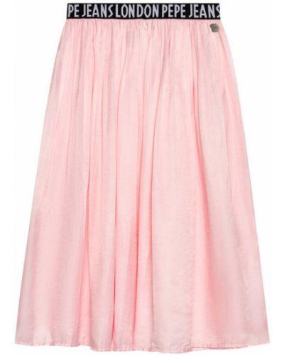 Spódnica - różowa Pepe Jeans