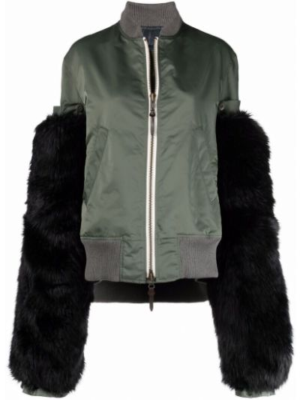 Зеленая шерстяная куртка Yohji Yamamoto