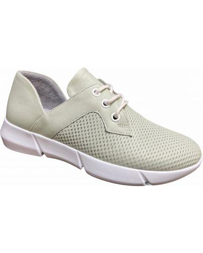 Кожаные туфли - мятные Nod Trend