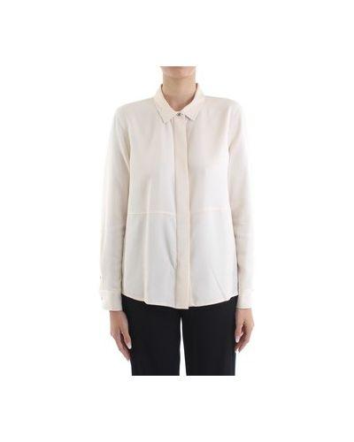 Biały koszula jeansowa Calvin Klein Jeans