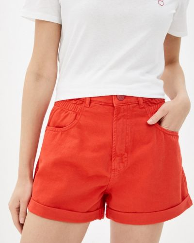 Красные джинсовые шорты Whitney