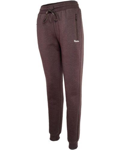 Флисовые спортивные брюки - коричневые Radder
