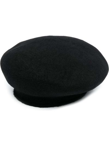 Czarny beret wełniany Julius