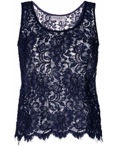 Жилетка синий Yves Saint Laurent Pre-owned