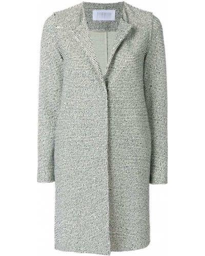 Длинное пальто букле без воротника Harris Wharf London
