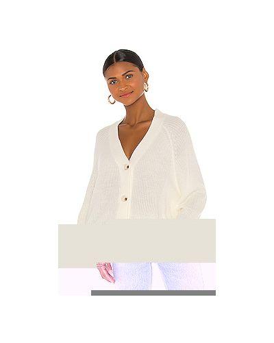 Свободные белый акриловый свитер свободного кроя Cupcakes And Cashmere