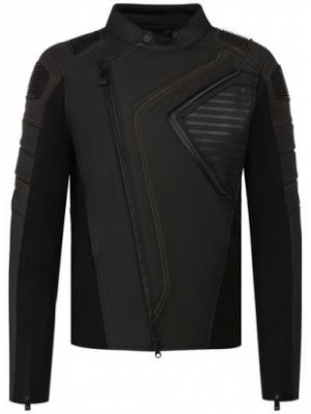Нейлоновая кожаная куртка с декоративной отделкой Harley Davidson