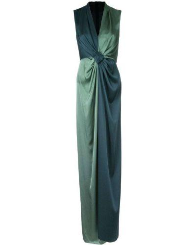 Платье с V-образным вырезом приталенное Paule Ka