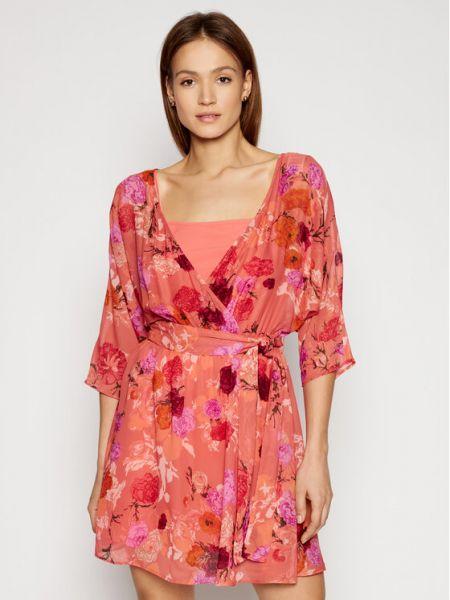 Sukienka - różowa Max&co.