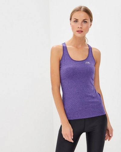Майка спортивная фиолетовый Li-ning