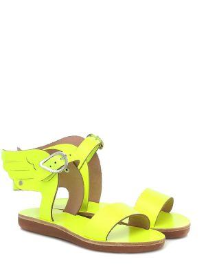 Skórzany sandały żółty Ancient Greek Sandals Kids